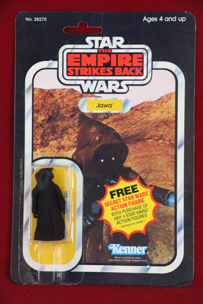 ESB Kenner Star Wars Jawa 21 Back A Front