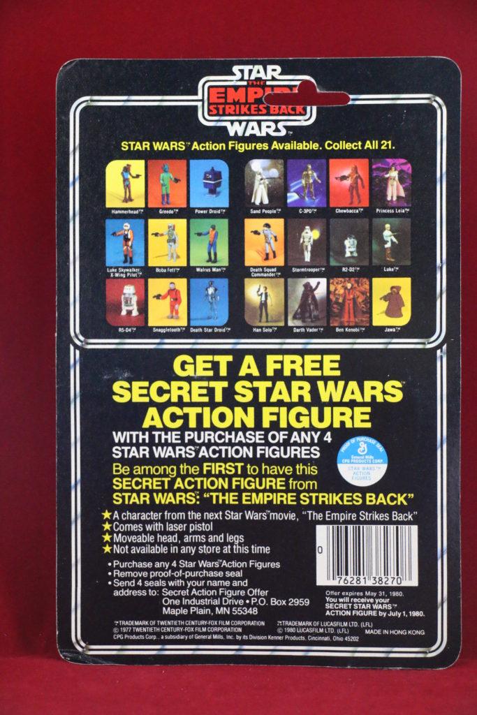 ESB Kenner Star Wars Jawa 21 Back A Back