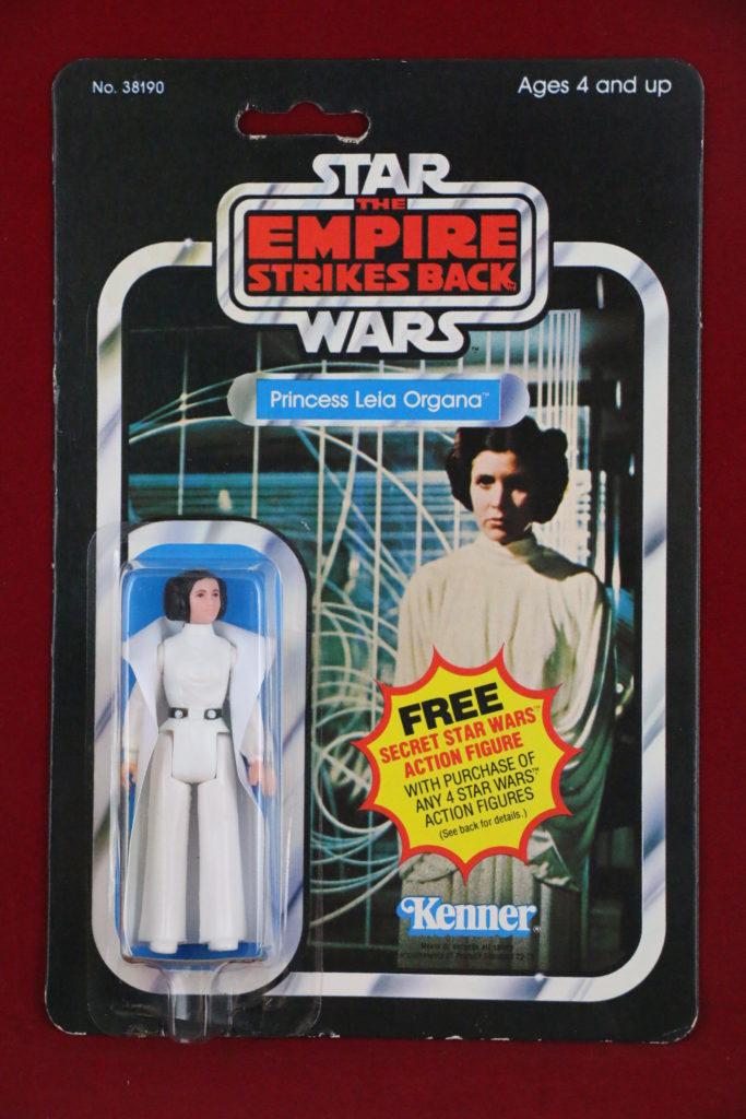 ESB Kenner Star Wars Princess Leia 21 Back A Front