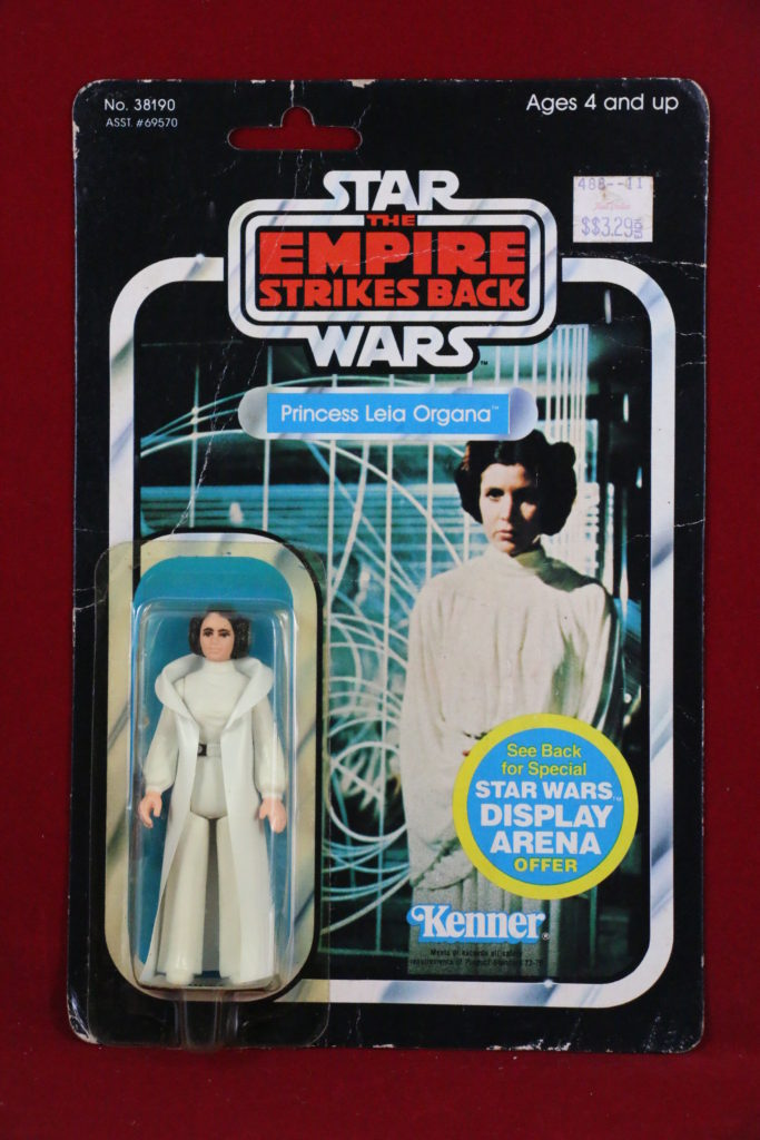 ESB Kenner Star Wars Princess Leia 45 Back A Front