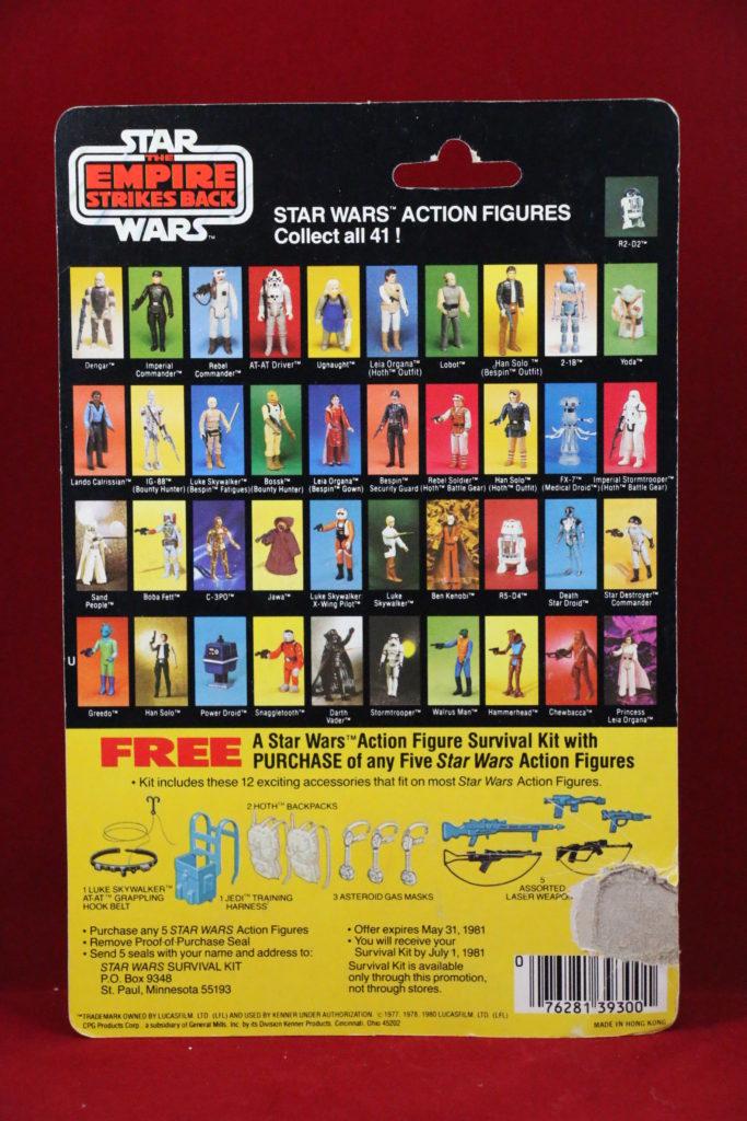 ESB Kenner Star Wars Stormtrooper 41 Back A Back