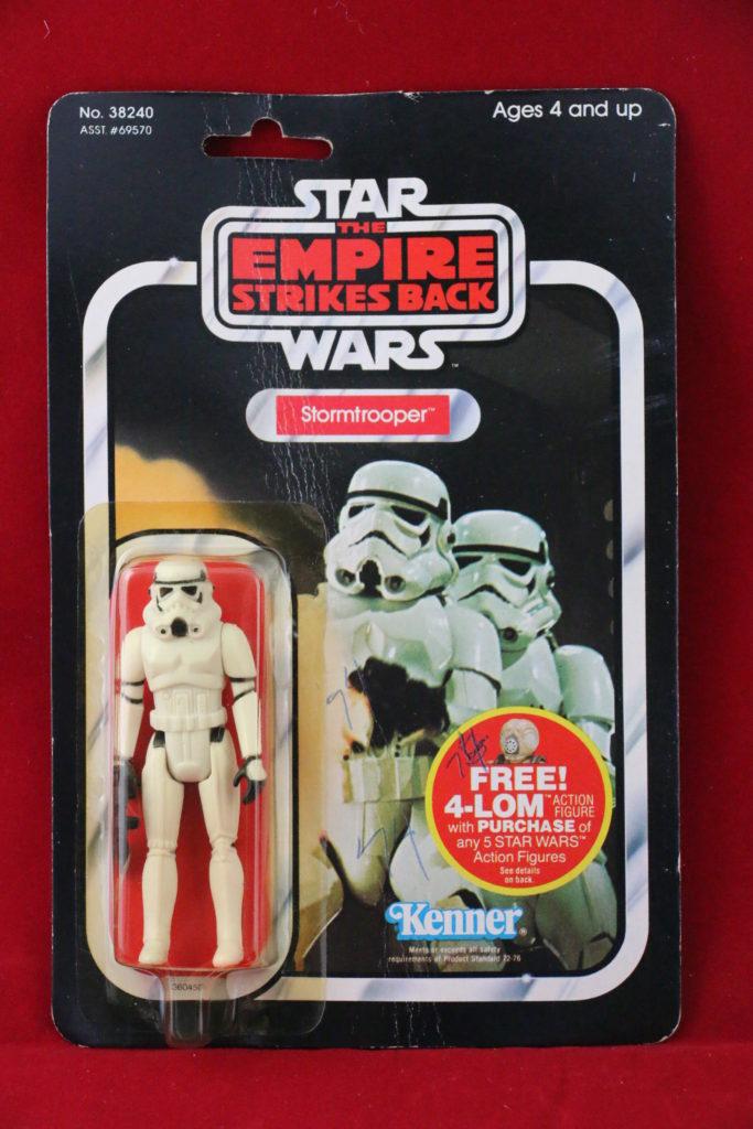 ESB Kenner Star Wars Stormtrooper 47 Back Front