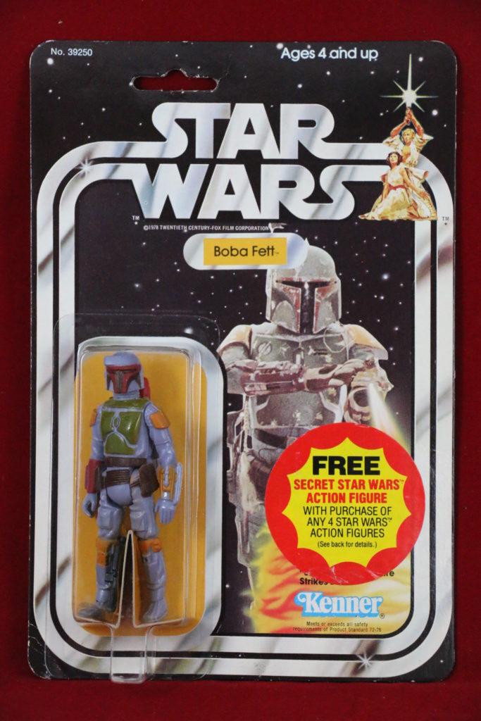 Kenner Star Wars Boba Fett 21 Back C Front
