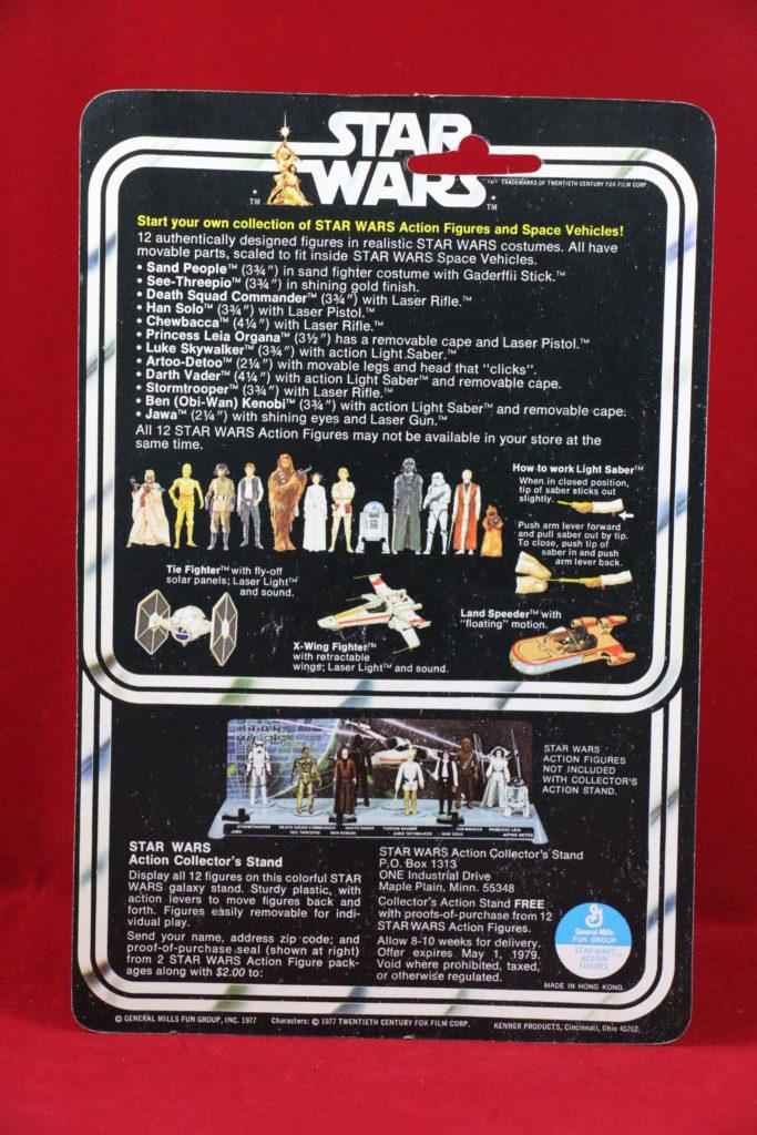 Kenner Star Wars Jawa 12 Back B Back