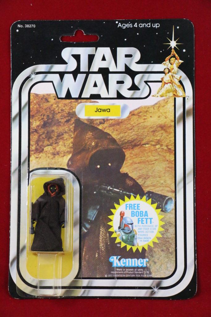 Kenner Star Wars Jawa 20 Back Front
