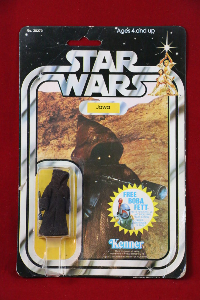 Kenner Star Wars Jawa 20 Back H Front