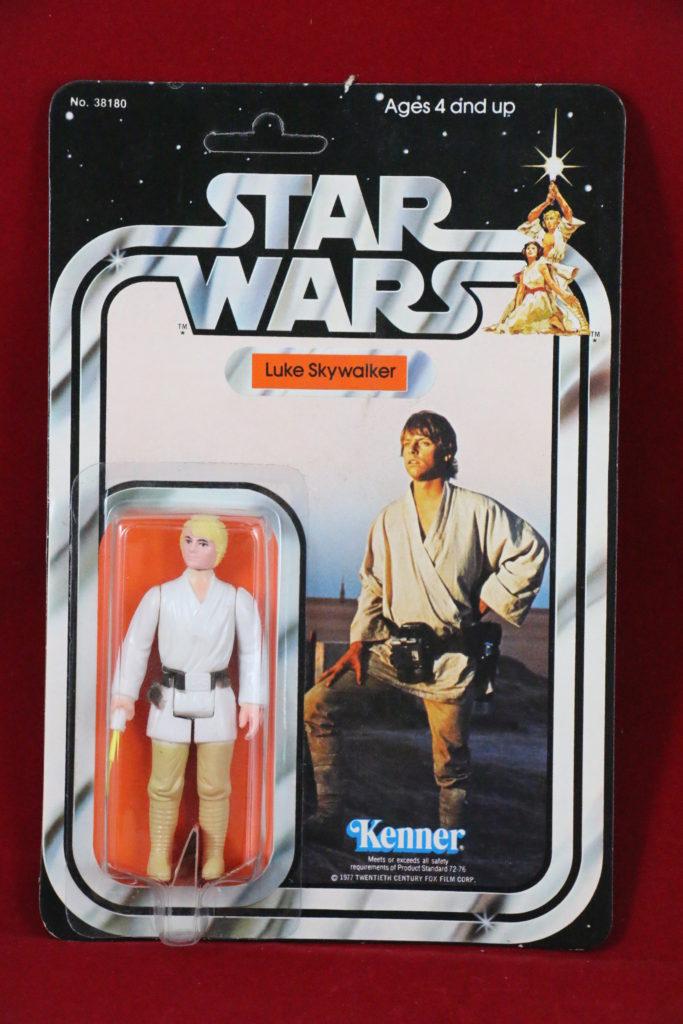 Kenner Star Wars Luke Skywalker 21 Back B Front