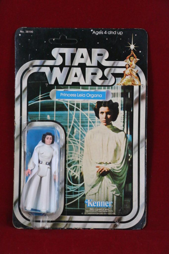 Kenner Star Wars Princess Leia 21 Back B