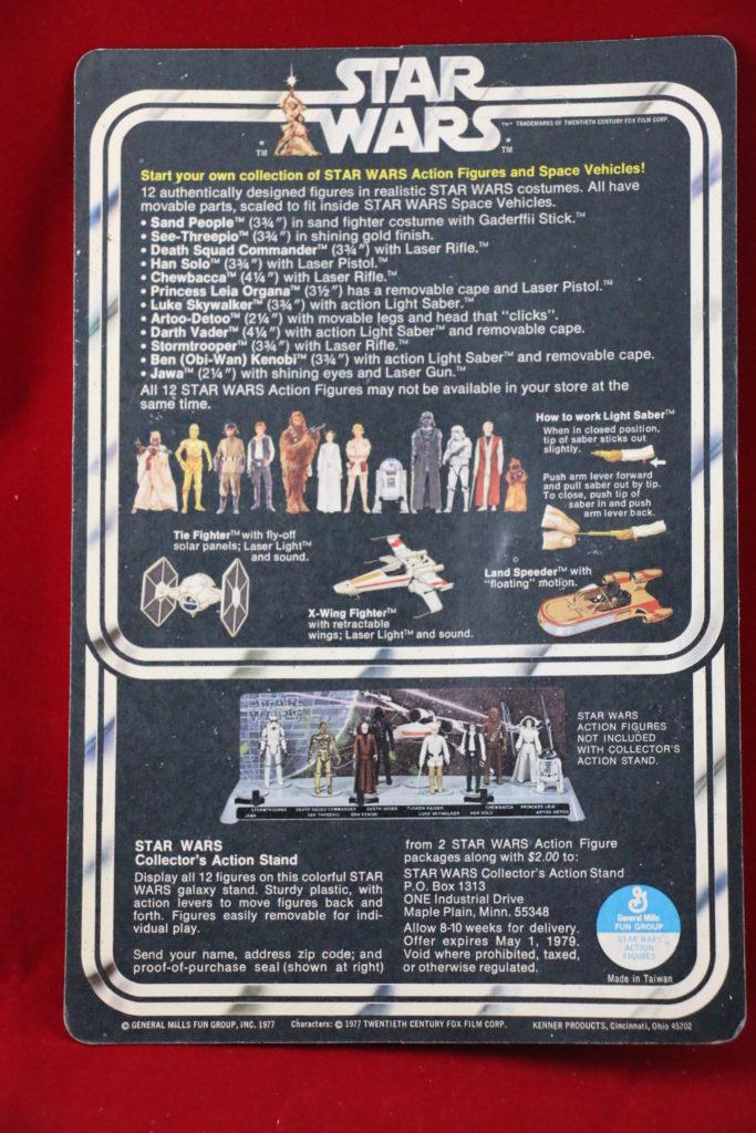 Kenner Star Wars Princess Leia White Footer 12 Back A Back