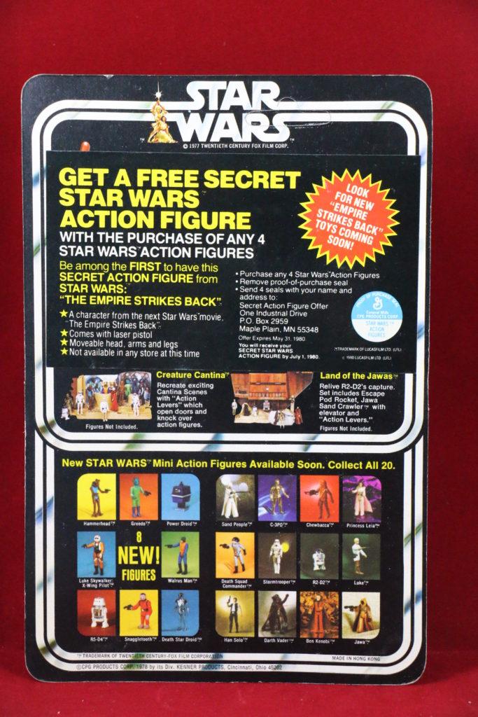 Kenner Star Wars Stormtrooper 20 Back I Back