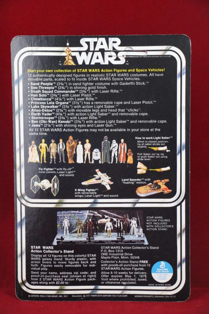 Kenner Star Wars Jawa 12 Back C Back