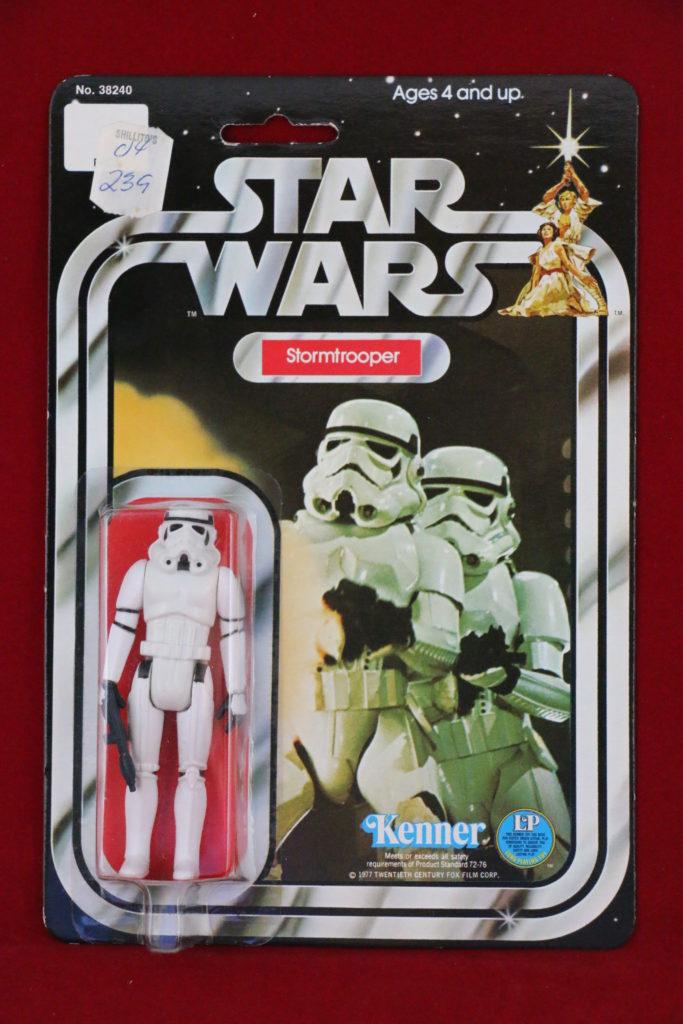 Kenner Star Wars Stormtrooper 12 Back A SKU Front
