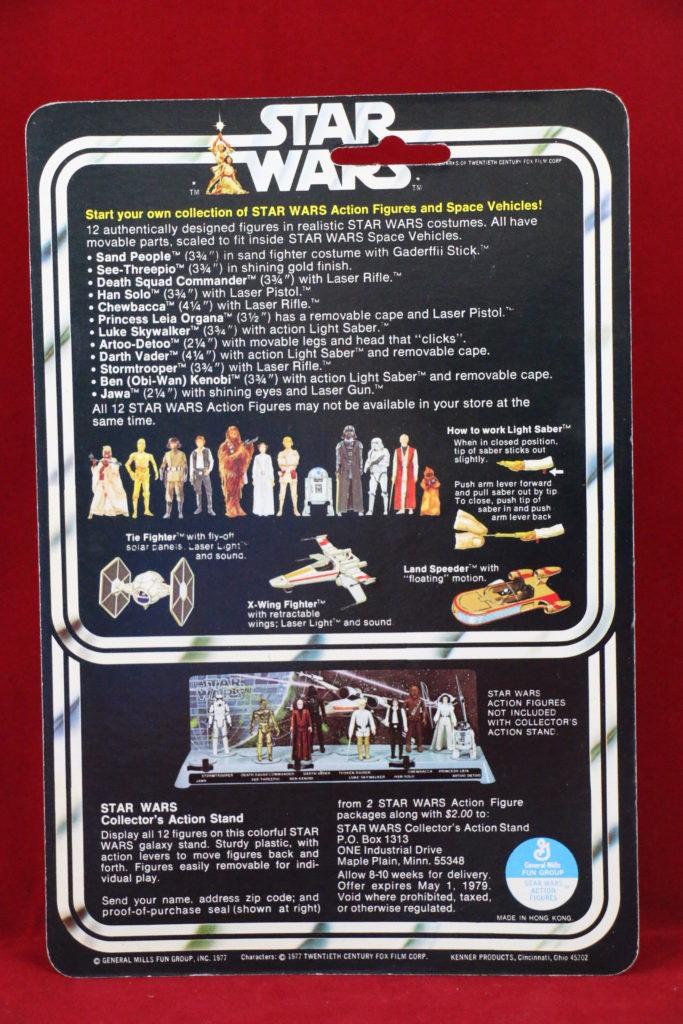 Kenner Star Wars Stormtrooper 12 Back A SKU_2
