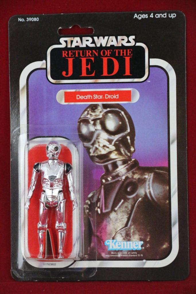 ROTJ Kenner Star Wars Death Star Droid 65 Back B Front