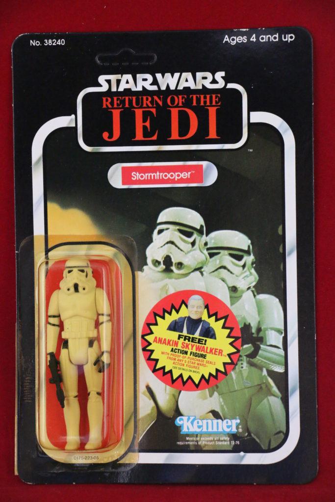 ROTJ Kenner Star Wars Stormtrooper 77 Back B Front