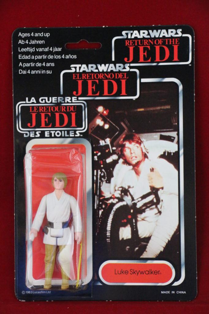 Trilogo Kenner Star Wars Luke Skywalker Brown Hair Front