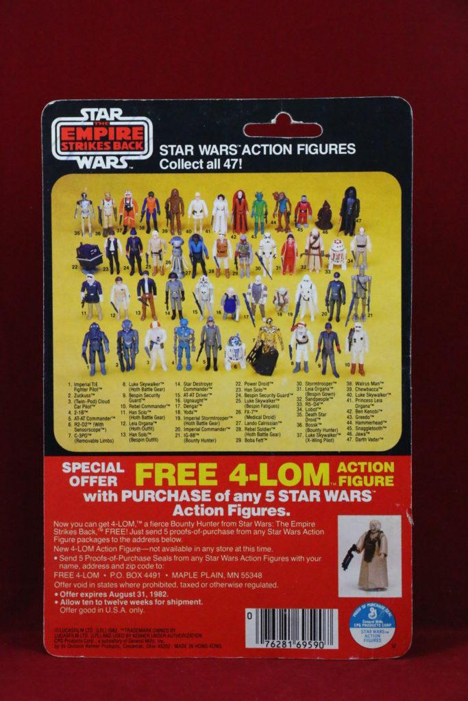 SB Kenner Star Wars Dengar 47 Back Back