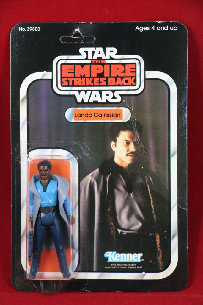 ESB Kenner Star Wars Lando No Teeth 32 Back B Front
