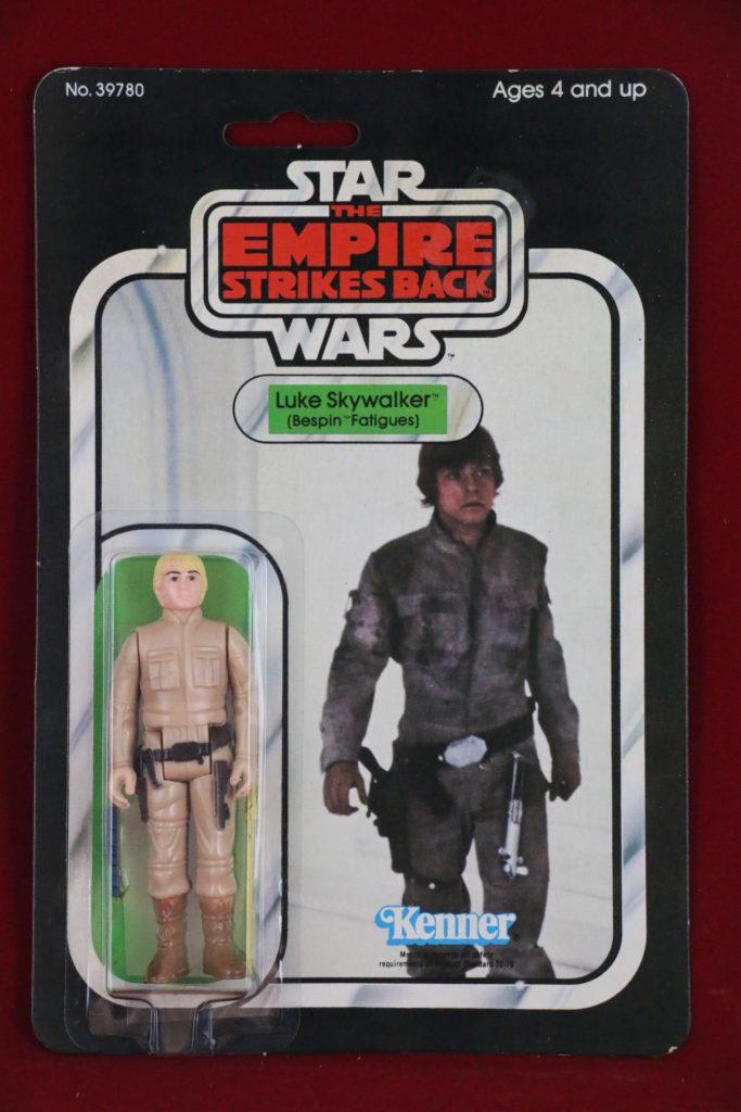 ESB Kenner Star Wars Luke Skywalker Bespin 31 Back B Front