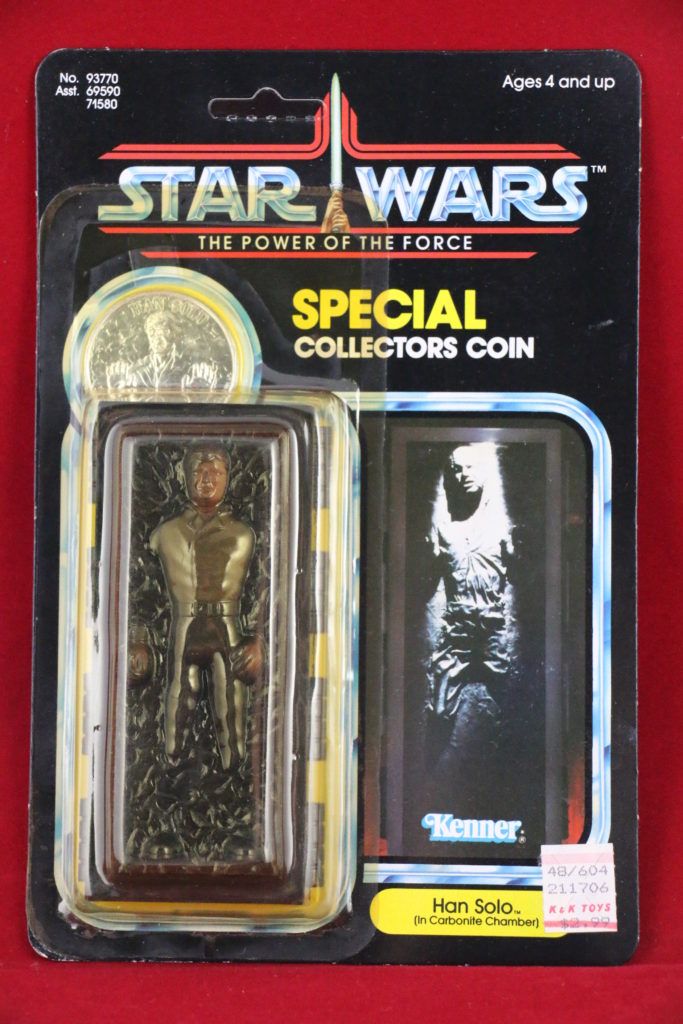 Han Solo Carbonite POTF Front