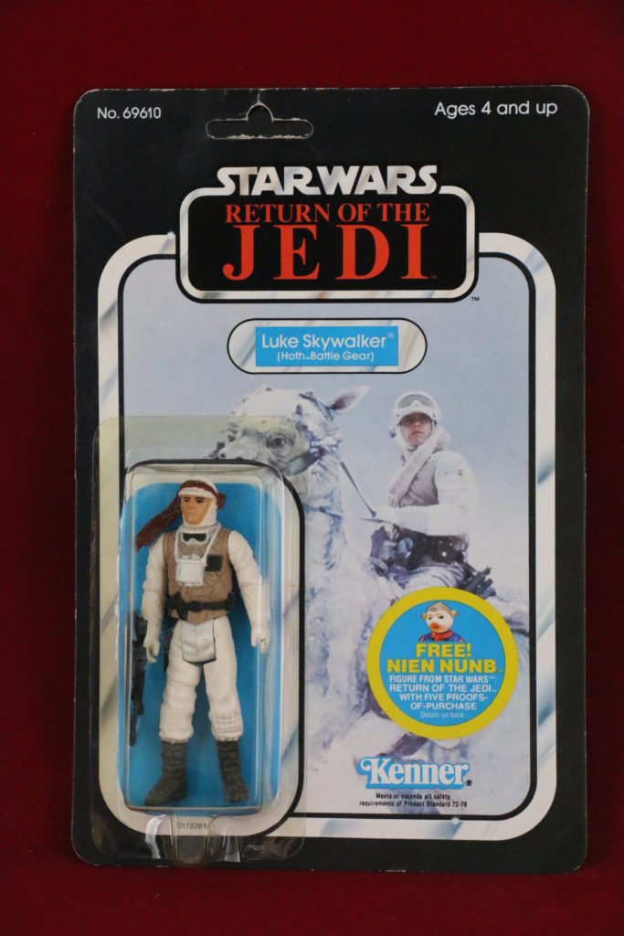 ROTJ Kenner Star Wars Luke Skywalker Hoth 48 Back A Front