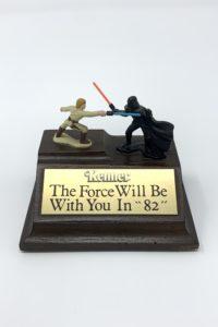 Toy Fair Kenner Star Wars Breakfast Award Wood Base