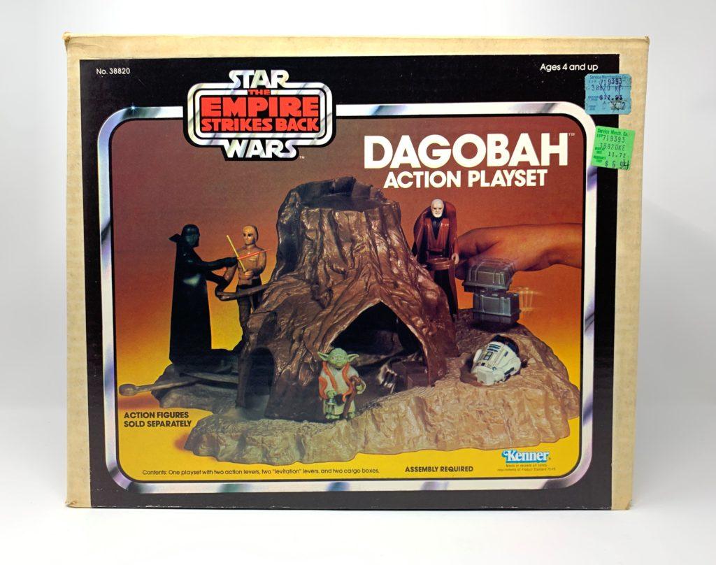 ESB Dagobah Action Playset Front