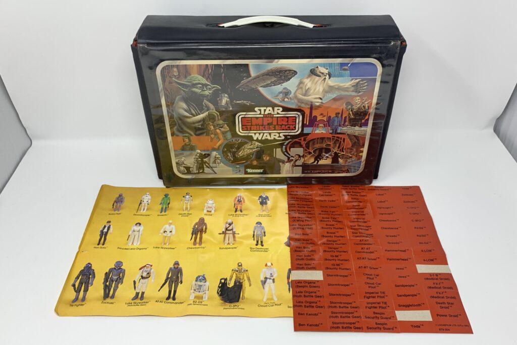 Vintage Star Wars Empire Strikes Back Action Figure Case Wampa Variation