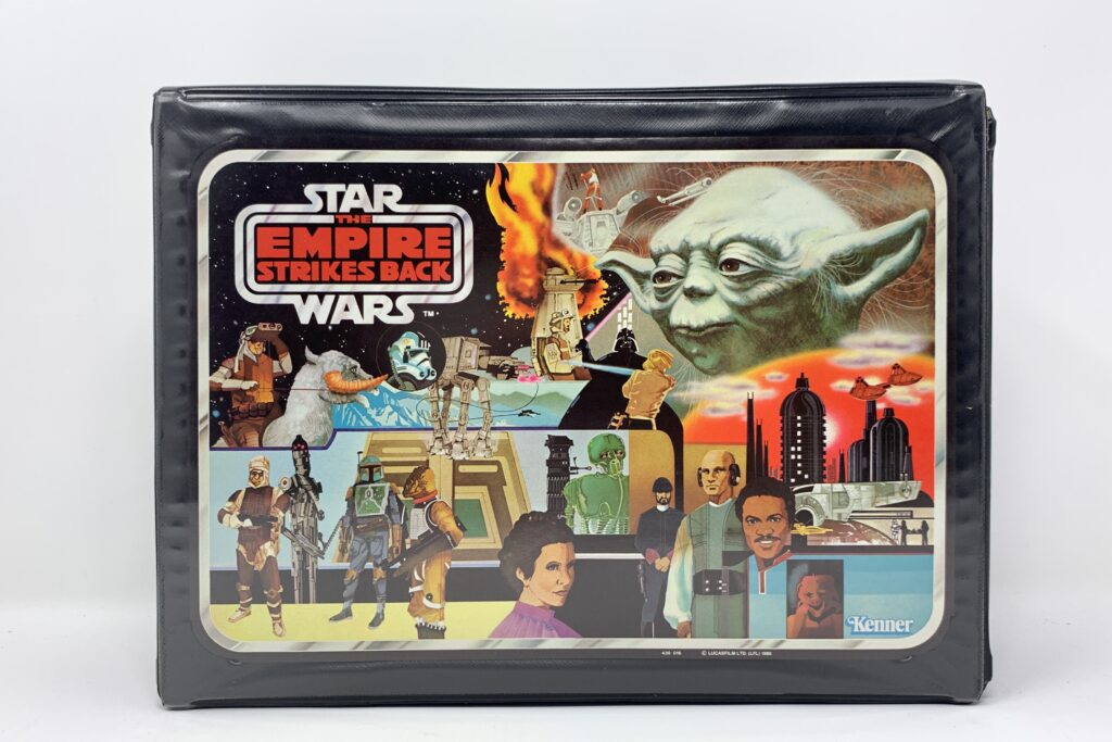 Vintage Star Wars Empire Strikes Back Action Figure Case